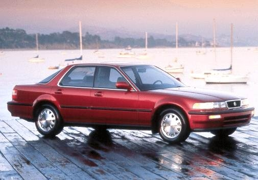 Top Consumer Rated Luxury Vehicles of 1992 - 1992 Acura Vigor