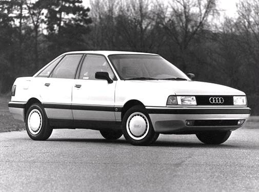 Most Fuel Efficient Luxury Vehicles of 1992 - 1992 Audi 80