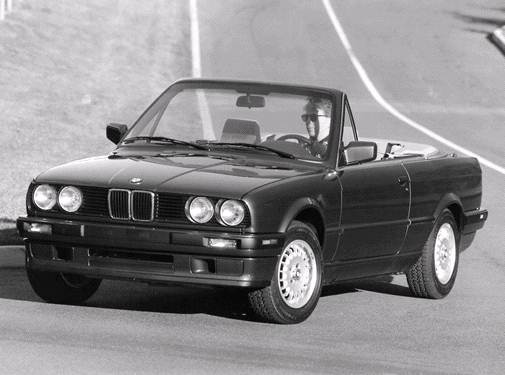 Top Consumer Rated Convertibles of 1992 - 1992 BMW 3 Series