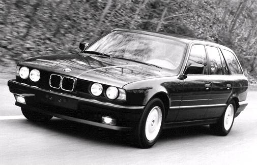 Most Popular Wagons of 1992 - 1992 BMW 5 Series