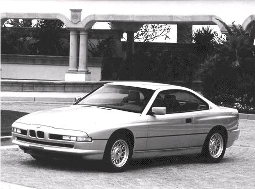 Top Consumer Rated Coupes of 1992 - 1992 BMW 8 Series
