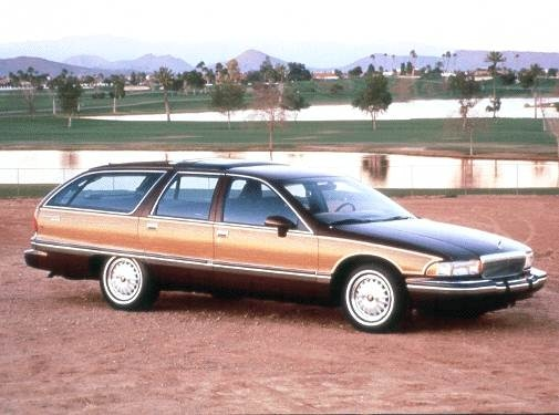 Most Popular Wagons of 1992 - 1992 Buick Roadmaster