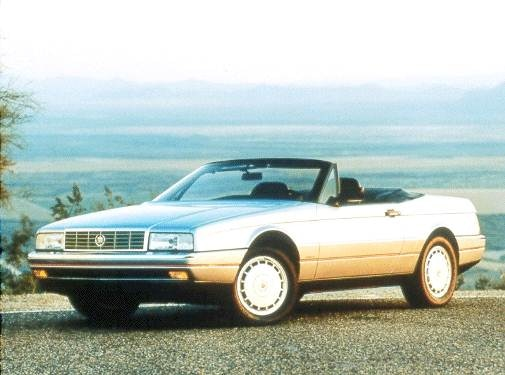 Highest Horsepower Convertibles of 1992 - 1992 Cadillac Allante