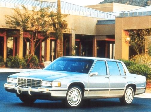 Most Popular Luxury Vehicles of 1992 - 1992 Cadillac DeVille