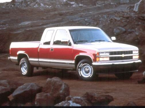 Most Popular Trucks of 1992 - 1992 Chevrolet 1500 Extended Cab