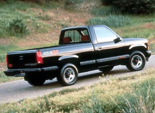 Highest Horsepower Trucks of 1992 - 1992 Chevrolet 1500 Regular Cab