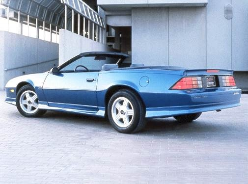 Most Popular Convertibles of 1992 - 1992 Chevrolet Camaro