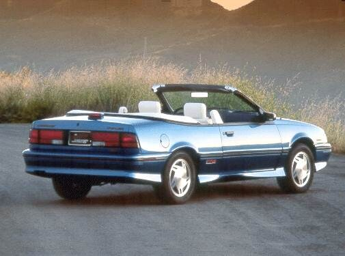 Most Fuel Efficient Convertibles of 1992 - 1992 Chevrolet Cavalier