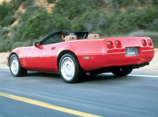 Highest Horsepower Convertibles of 1992 - 1992 Chevrolet Corvette