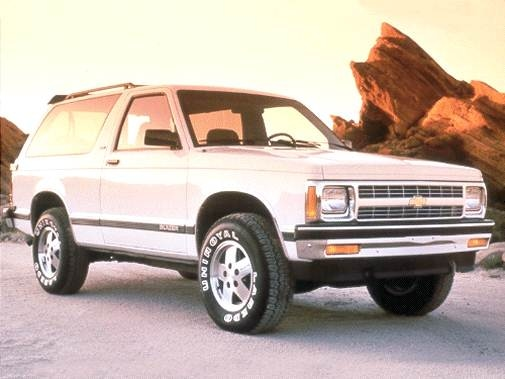Highest Horsepower SUVS of 1992 - 1992 Chevrolet S10 Blazer