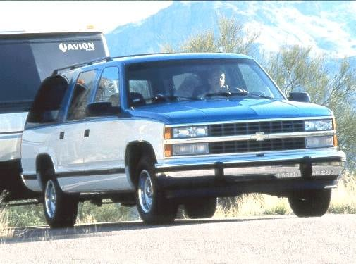 Highest Horsepower SUVS of 1992 - 1992 Chevrolet Suburban 2500