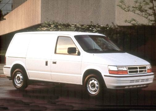 Most Fuel Efficient Van/Minivans of 1992 - 1992 Dodge Caravan Cargo