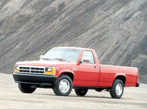 Most Fuel Efficient Trucks of 1992 - 1992 Dodge Dakota Regular Cab
