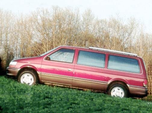 Most Fuel Efficient Van/Minivans of 1992 - 1992 Dodge Grand Caravan Passenger