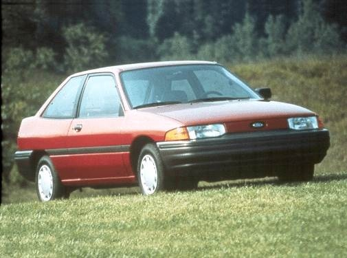 Most Popular Coupes of 1992 - 1992 Ford Escort