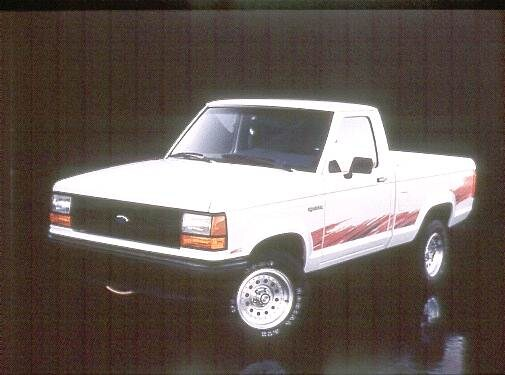 Most Fuel Efficient Trucks of 1992 - 1992 Ford Ranger Regular Cab
