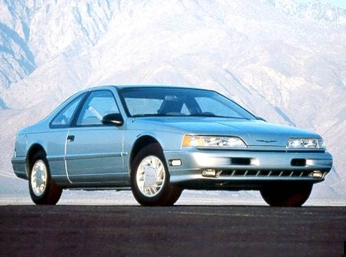 Most Popular Coupes of 1992 - 1992 Ford Thunderbird