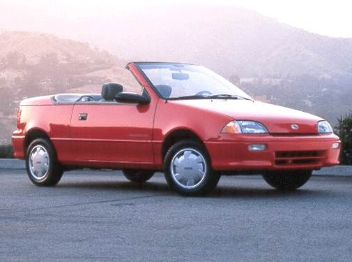 Most Fuel Efficient Convertibles of 1992 - 1992 Geo Metro