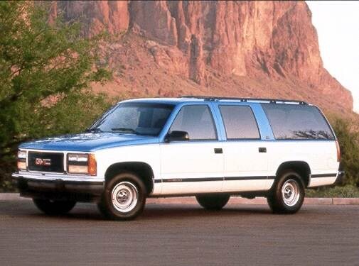 Highest Horsepower SUVS of 1992 - 1992 GMC Suburban 2500
