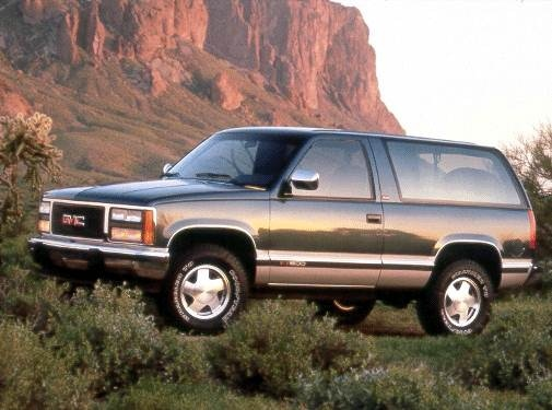 Top Consumer Rated SUVS of 1992 - 1992 GMC Yukon