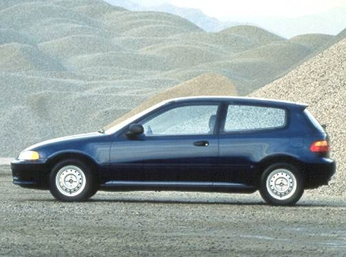 Most Popular Coupes of 1992 - 1992 Honda Civic