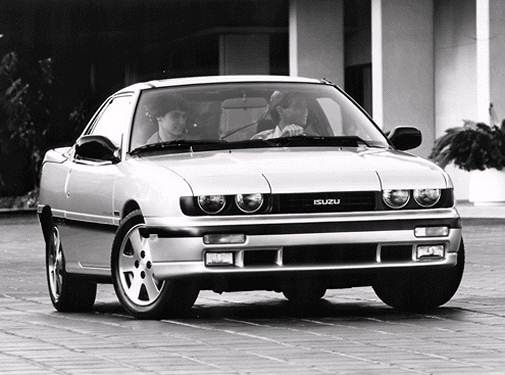 Top Consumer Rated Coupes of 1992 - 1992 Isuzu Impulse