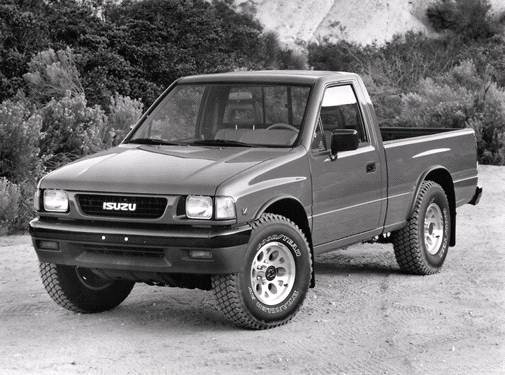 Most Fuel Efficient Trucks of 1992 - 1992 Isuzu Regular Cab