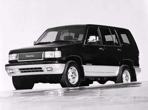 Top Consumer Rated SUVS of 1992 - 1992 Isuzu Trooper