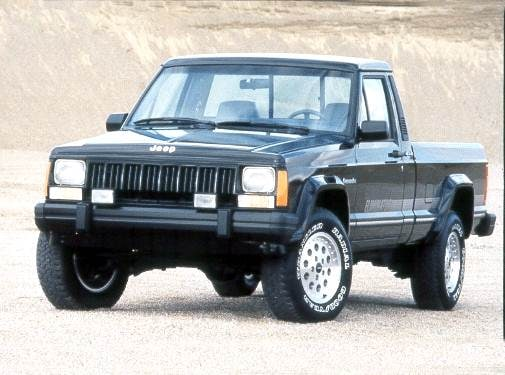 Most Fuel Efficient Trucks of 1992 - 1992 Jeep Comanche Regular Cab