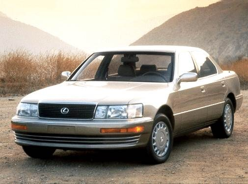 Top Consumer Rated Luxury Vehicles of 1992 - 1992 Lexus LS