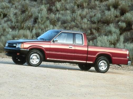 Most Fuel Efficient Trucks of 1992 - 1992 MAZDA B-Series Cab Plus