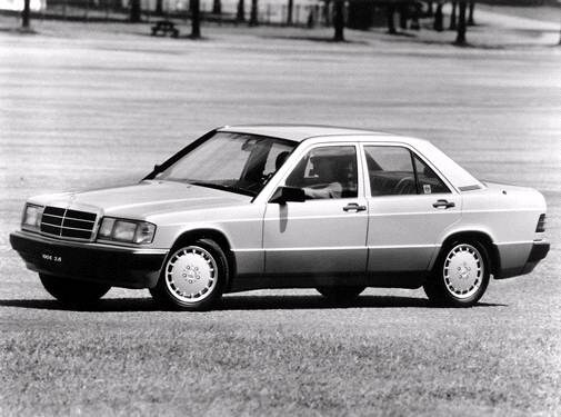 Most Fuel Efficient Luxury Vehicles of 1992 - 1992 Mercedes-Benz 190 E