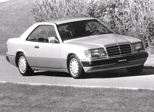 Top Consumer Rated Coupes of 1992 - 1992 Mercedes-Benz 300 CE