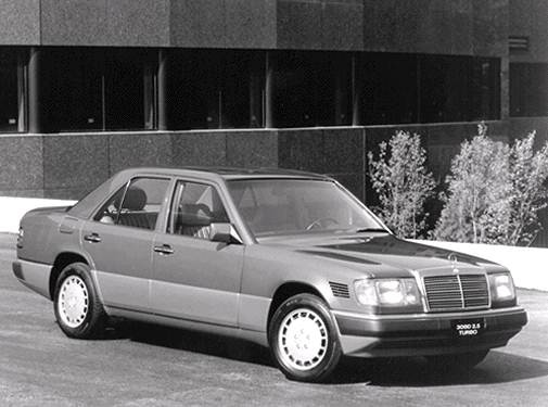 Top Consumer Rated Sedans of 1992 - 1992 Mercedes-Benz 300 D