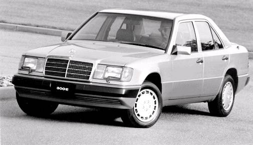 Most Fuel Efficient Luxury Vehicles of 1992 - 1992 Mercedes-Benz 300 E