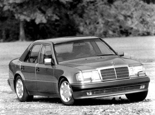 Top Consumer Rated Sedans of 1992 - 1992 Mercedes-Benz 500 E