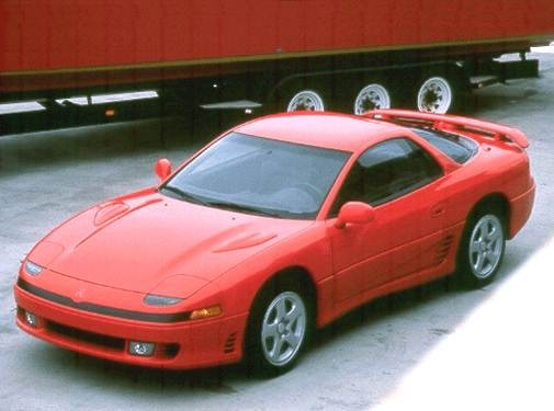 Highest Horsepower Hatchbacks of 1992 - 1992 Mitsubishi 3000GT
