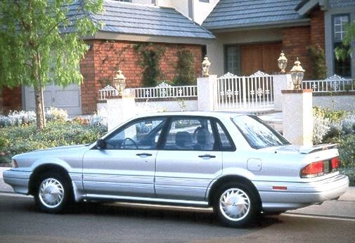 Top Consumer Rated Sedans of 1992 - 1992 Mitsubishi Galant