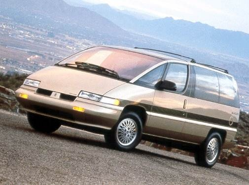 Most Fuel Efficient Van/Minivans of 1992 - 1992 Oldsmobile Silhouette