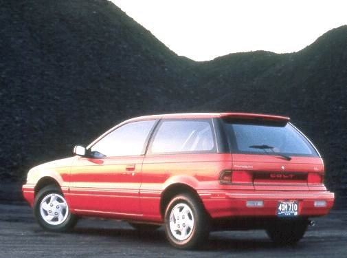 Top Consumer Rated Hatchbacks of 1992 - 1992 Plymouth Colt
