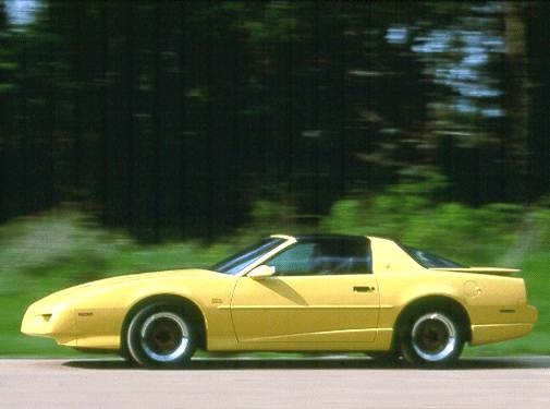 Top Consumer Rated Hatchbacks of 1992 - 1992 Pontiac Firebird