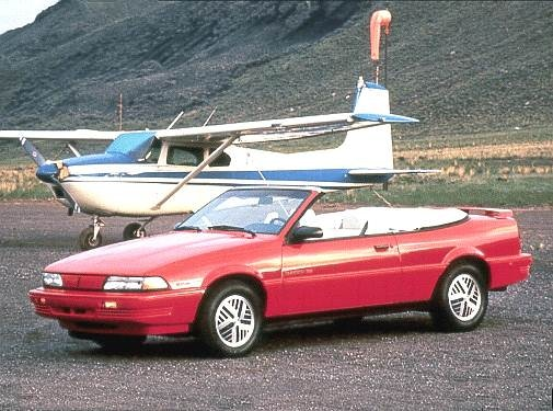 Most Fuel Efficient Convertibles of 1992 - 1992 Pontiac Sunbird