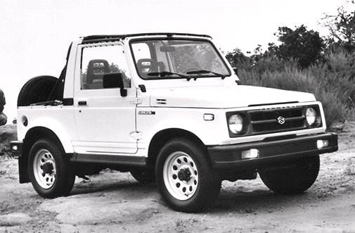 Top Consumer Rated SUVS of 1992 - 1992 Suzuki Samurai