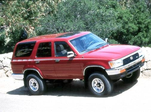 Most Fuel Efficient SUVS of 1992