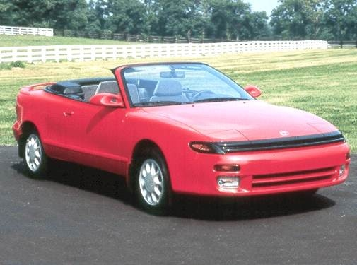 Most Fuel Efficient Convertibles of 1992 - 1992 Toyota Celica