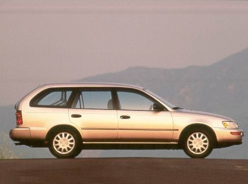 Most Popular Wagons of 1992 - 1992 Toyota Corolla
