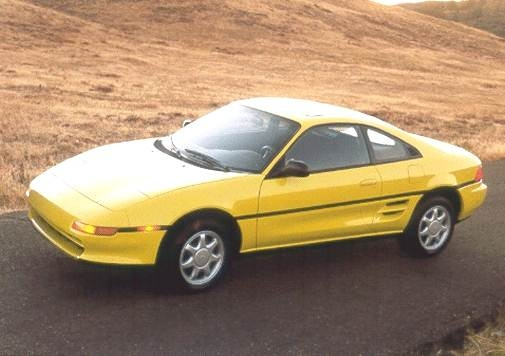 Top Consumer Rated Coupes of 1992 - 1992 Toyota MR2