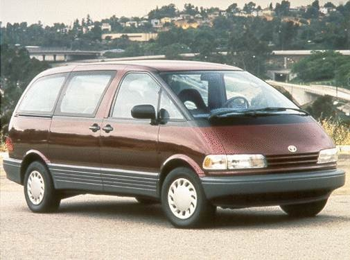 Most Fuel Efficient Van/Minivans of 1992 - 1992 Toyota Previa
