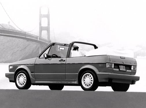 Most Fuel Efficient Convertibles of 1992 - 1992 Volkswagen Cabriolet
