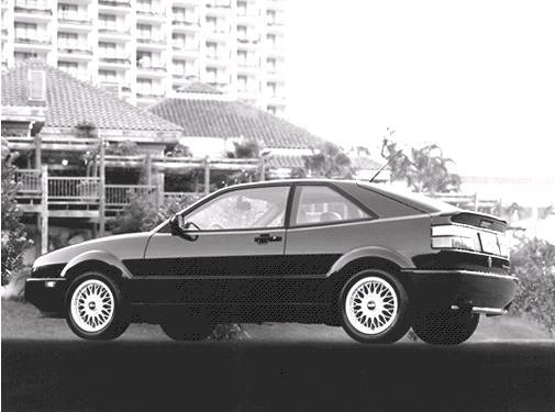 Top Consumer Rated Coupes of 1992 - 1992 Volkswagen Corrado